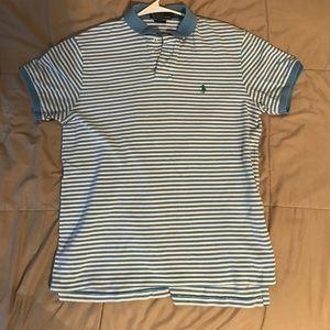 Ralph Lauren Striped Polo (L)